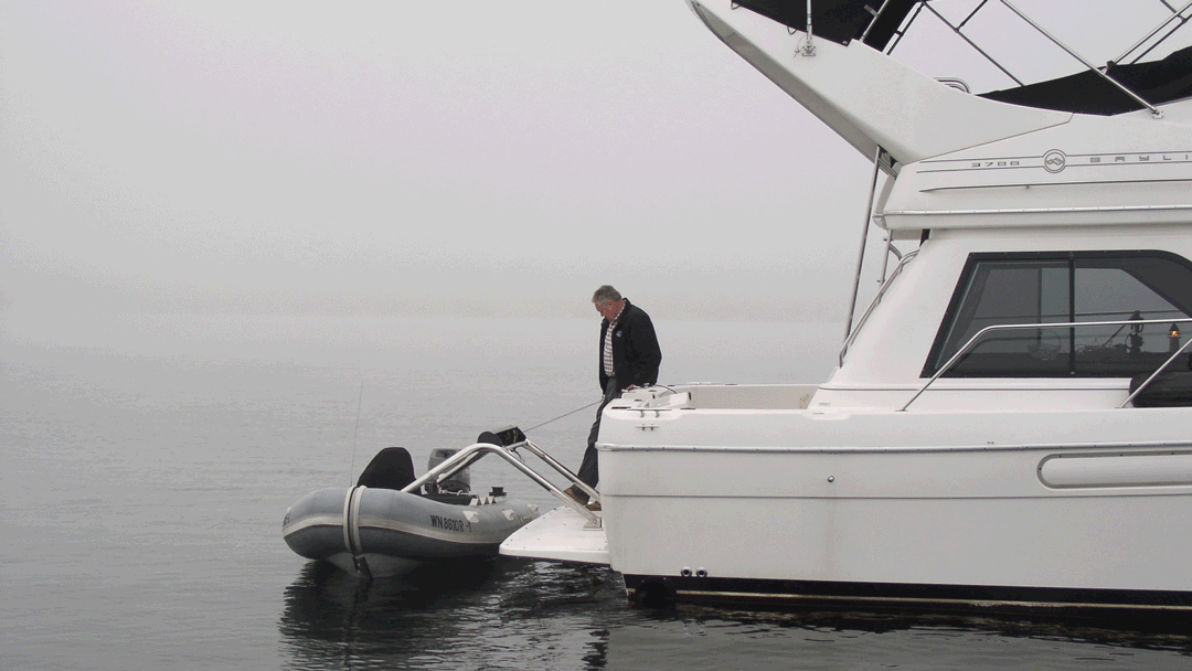 The RS-4 and RS-5 Transom Davit